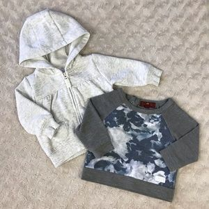 Baby Girl Bundle Carter's 7 For All Mankind Gray